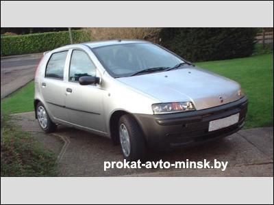 Прокат хетчбэка FIAT Punto в Минске без водителя