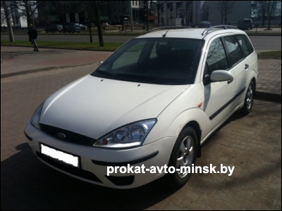 Прокат универсала FORD Focus в Минске без водителя