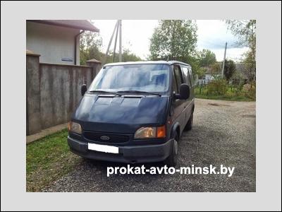 Прокат микроавтобуса FORD Transit в Минске без водителя