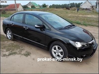 Прокат седана HONDA Civic в Минске без водителя
