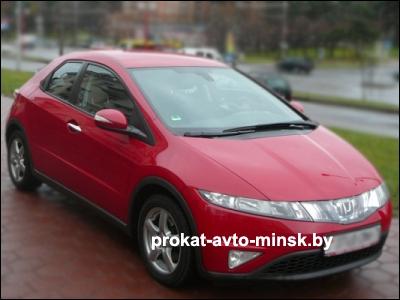Прокат хетчбэка HONDA Civic в Минске без водителя