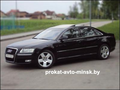 Аренда седана AUDI A8 D3 в Минске с водителем