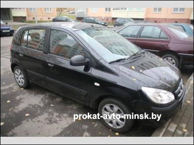 Аренда хетчбэка HYUNDAI Getz в Минске с водителем