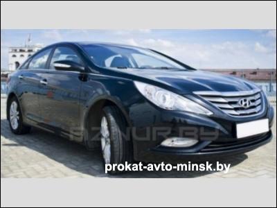 Прокат седана HYUNDAI Sonata в Минске без водителя