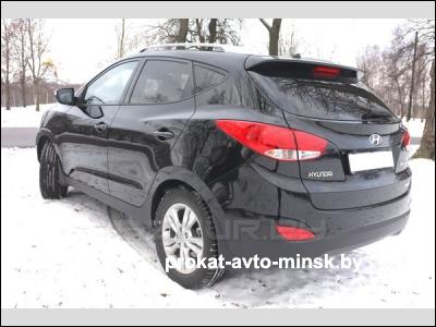 Прокат внедорожника HYUNDAI Tucson в Минске без водителя
