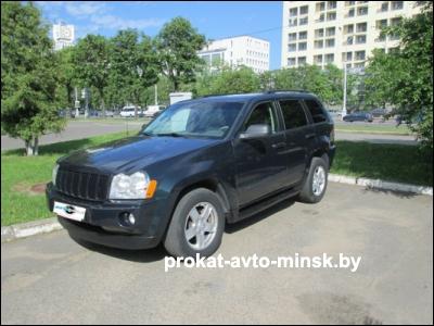 Прокат внедорожника JEEP Grand Cherokee в Минске без водителя