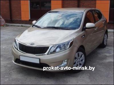 Прокат хетчбэка KIA Rio в Минске без водителя