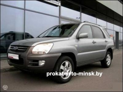 Прокат внедорожника KIA Sportage в Минске без водителя