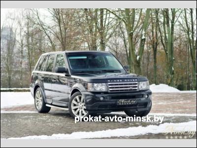 Прокат внедорожника LAND ROVER Range Rover Sport в Минске без водителя