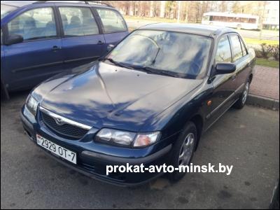 Прокат седана MAZDA 121 в Минске без водителя