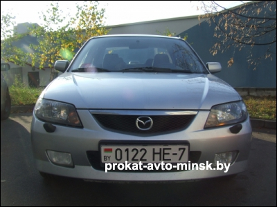 Прокат седана MAZDA 323 в Минске без водителя