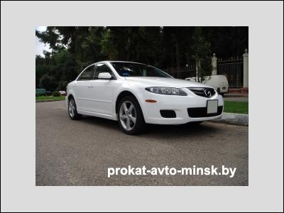 Прокат седана MAZDA 6 в Минске без водителя