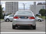 Прокат седана ACURA TSX в Минске без водителя