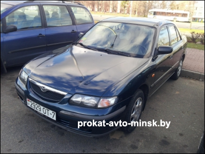 Аренда седана MAZDA 626 в Минске с водителем