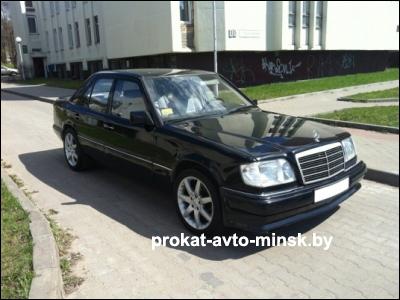 Прокат седана MERCEDES E-klasse (W124) в Минске без водителя