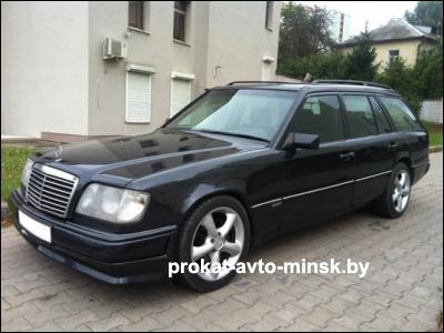 Прокат универсала MERCEDES E-klasse (W124) в Минске без водителя