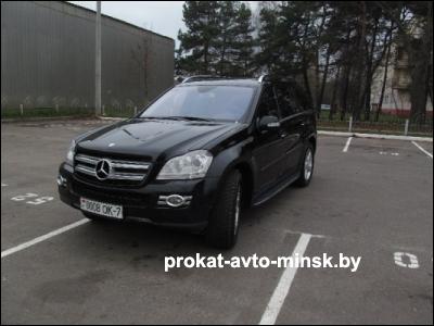 Прокат внедорожника MERCEDES GL-klasse в Минске без водителя