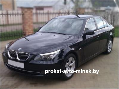 Аренда седана BMW 5-reihe (E60) в Минске с водителем