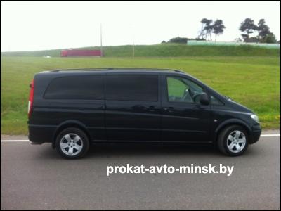 Аренда микроавтобуса MERCEDES Viano в Минске с водителем