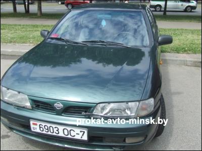 Прокат седана NISSAN Almera в Минске без водителя