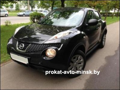 Прокат внедорожника NISSAN Juke в Минске без водителя
