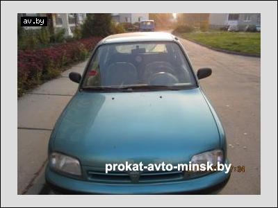 Прокат хетчбэка NISSAN Micra в Минске без водителя