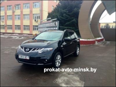 Прокат внедорожника NISSAN Murano в Минске без водителя