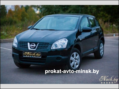 Прокат внедорожника NISSAN Quashqai в Минске без водителя