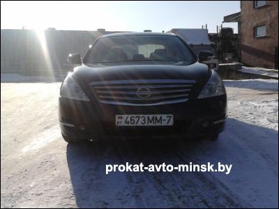 Аренда седана NISSAN Teana в Минске с водителем