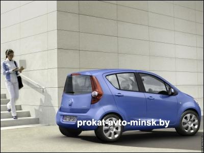 Прокат хетчбэка OPEL Agila в Минске без водителя