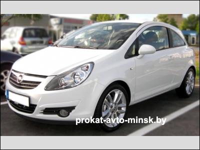 Прокат хетчбэка OPEL Corsa в Минске без водителя