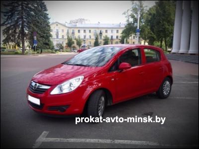 Прокат хетчбэка OPEL Corsa в Витебске без водителя