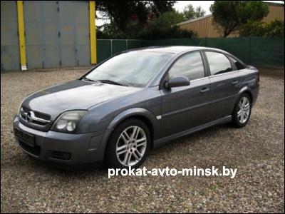 Прокат хетчбэка OPEL Vectra в Минске без водителя