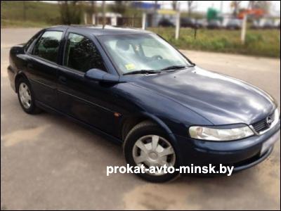 Прокат седана OPEL Vectra в Минске без водителя
