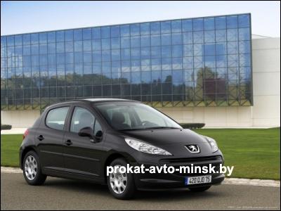 Прокат хетчбэка PEUGEOT 207 в Минске без водителя