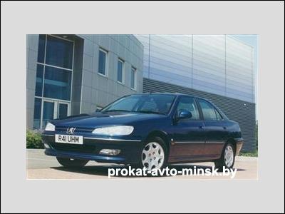 Прокат седана PEUGEOT 406 в Минске без водителя