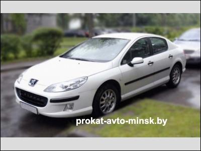 Прокат седана PEUGEOT 407 в Минске без водителя