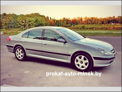 Аренда седана PEUGEOT 607 в Минске с водителем