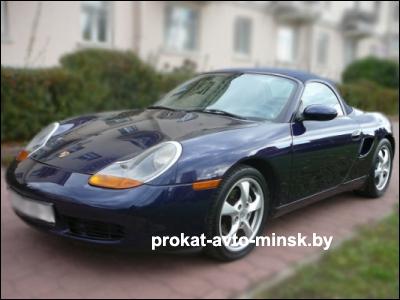 Прокат купе PORSCHE Boxster в Минске без водителя