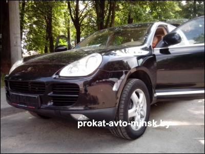 Аренда внедорожника PORSCHE Cayenne в Минске с водителем