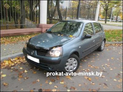 Прокат хетчбэка RENAULT Clio в Минске без водителя