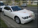 Аренда седана BMW 7-reihe (E65) в Минске с водителем