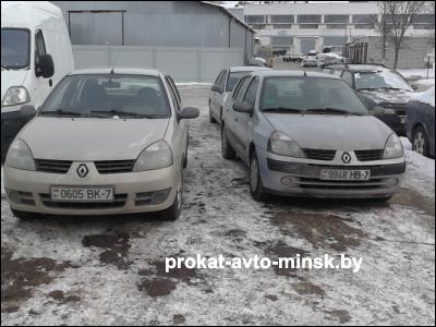 Прокат седана RENAULT Symbol в Минске без водителя