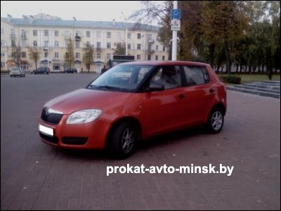 Прокат хетчбэка SKODA Fabia в Витебске без водителя