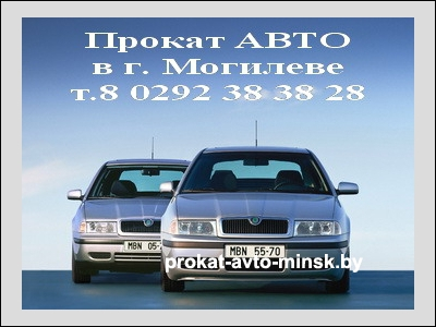 Прокат универсала SKODA Octavia в Могилеве без водителя