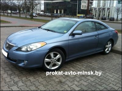 Прокат купе TOYOTA Solara в Минске без водителя