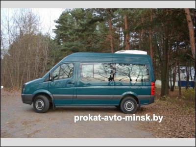 Аренда грузопассажирского VOLKSWAGEN Crafter в Минске с водителем