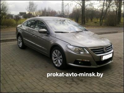 Аренда седана VOLKSWAGEN Passat CC в Минске с водителем