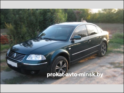 Прокат седана VOLKSWAGEN Passat в Минске без водителя
