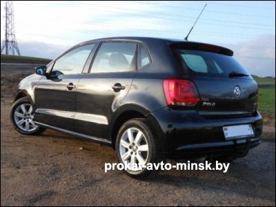 Прокат хетчбэка VOLKSWAGEN Polo в Минске без водителя